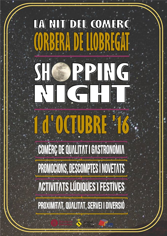 Shopping night de Corbera